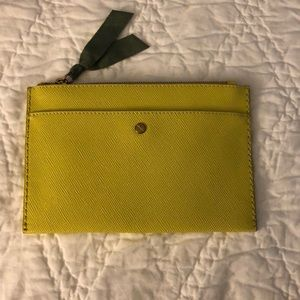 J. Crew Leather Pouch NWT